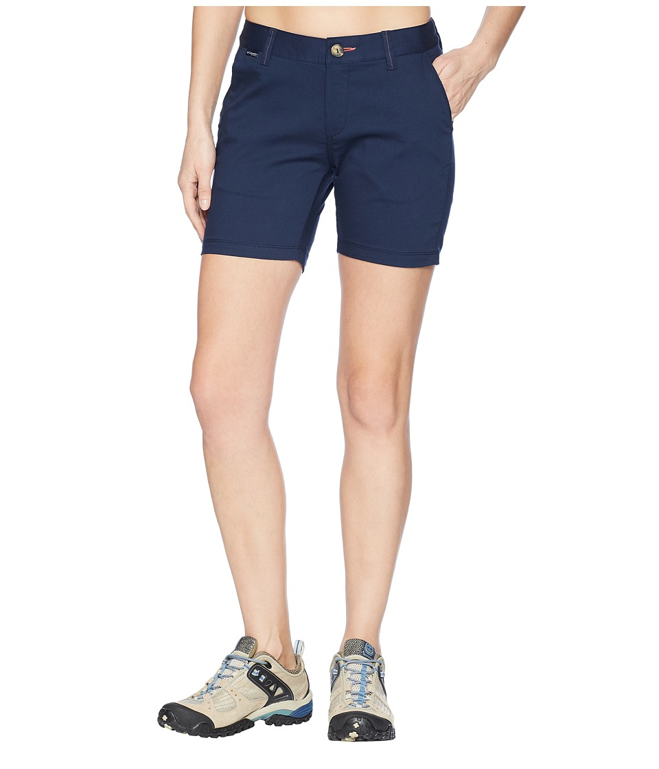 Columbia Harborside Shorts (Collegiate Navy/Sunset Red) Women