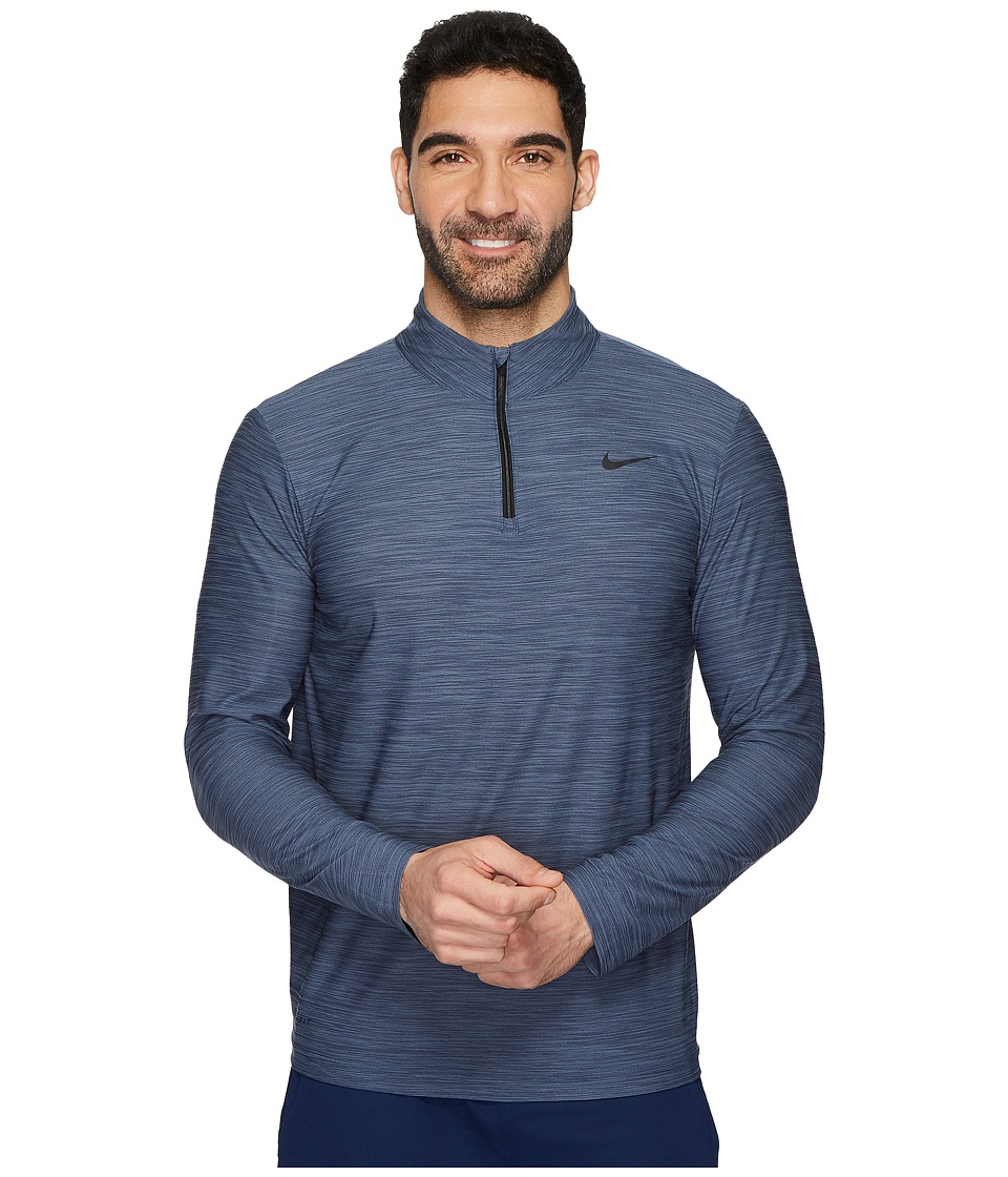 Nike Breathe Training Top (Light Carbon/Thunder Blue/Blac...