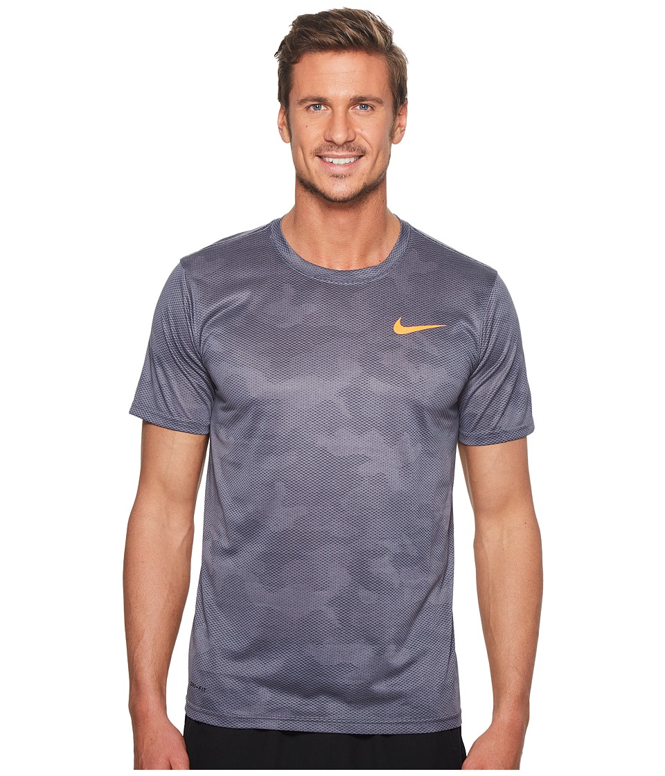 Nike Dry Legend Training T-Shirt (Light Carbon/Thunder Blue) Men