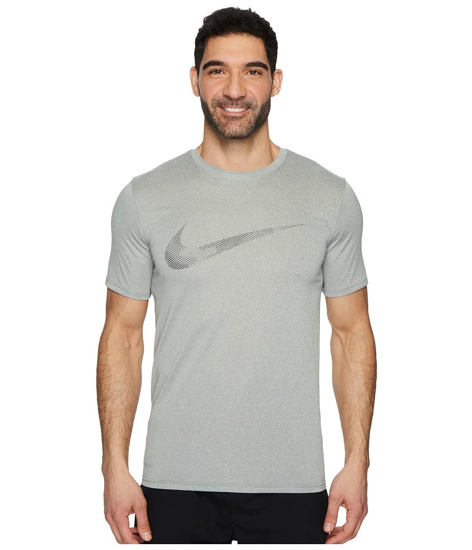 Nike Dry Legend Camo Fill Training T-Shirt (Dark Grey Heather) Men