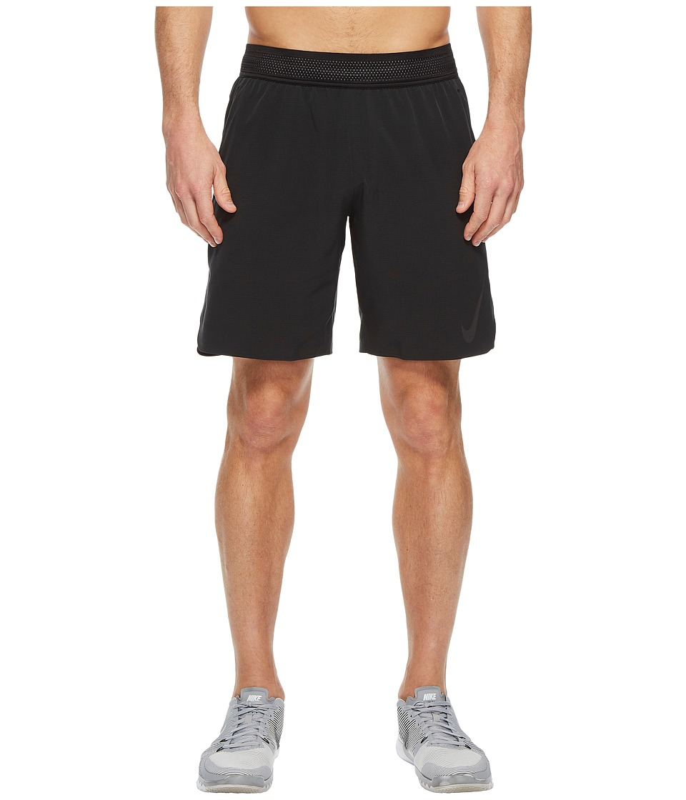 Nike Flex 8 Training Short (Black/Gunsmoke/Metallic Hematite) Men