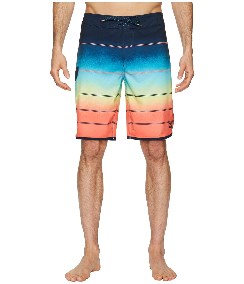 Billabong 73 X Stripe Boardshorts (Orange) Men