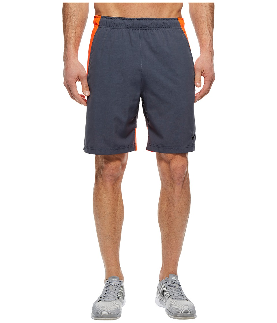 Nike Flex Woven Training Short (Thunder Blue/Heather/Black) Men