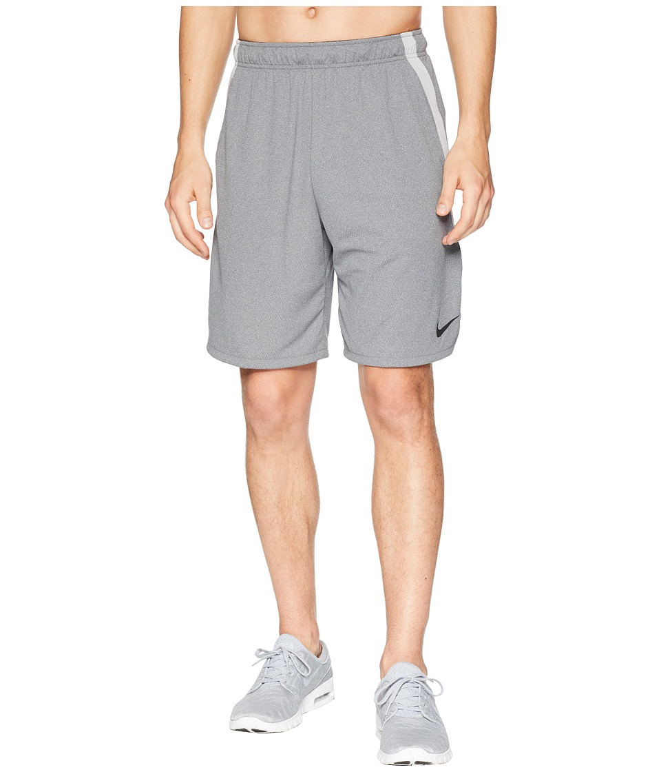 Nike Dri-FIT 9 Training Short (Gunsmoke/Heather/Black) Men
