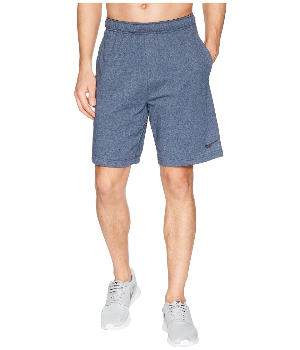 Nike Training Short (Thunder Blue/Heather/Black) Men