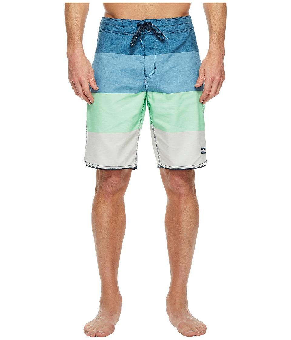 Billabong 73 OG Stripe Boardshorts (Blue) Men