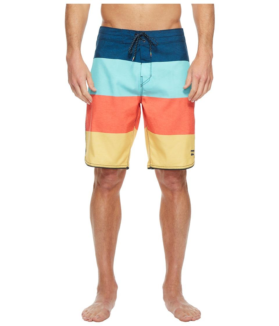 Billabong 73 OG Stripe Boardshorts (Orange) Men