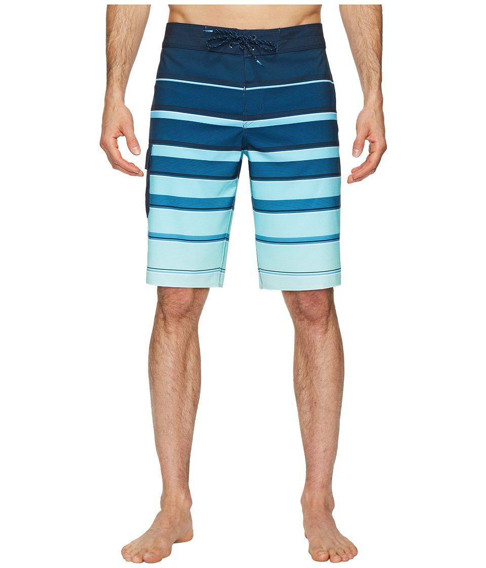 Billabong All Day X Stripe Boardshorts (Green) Men
