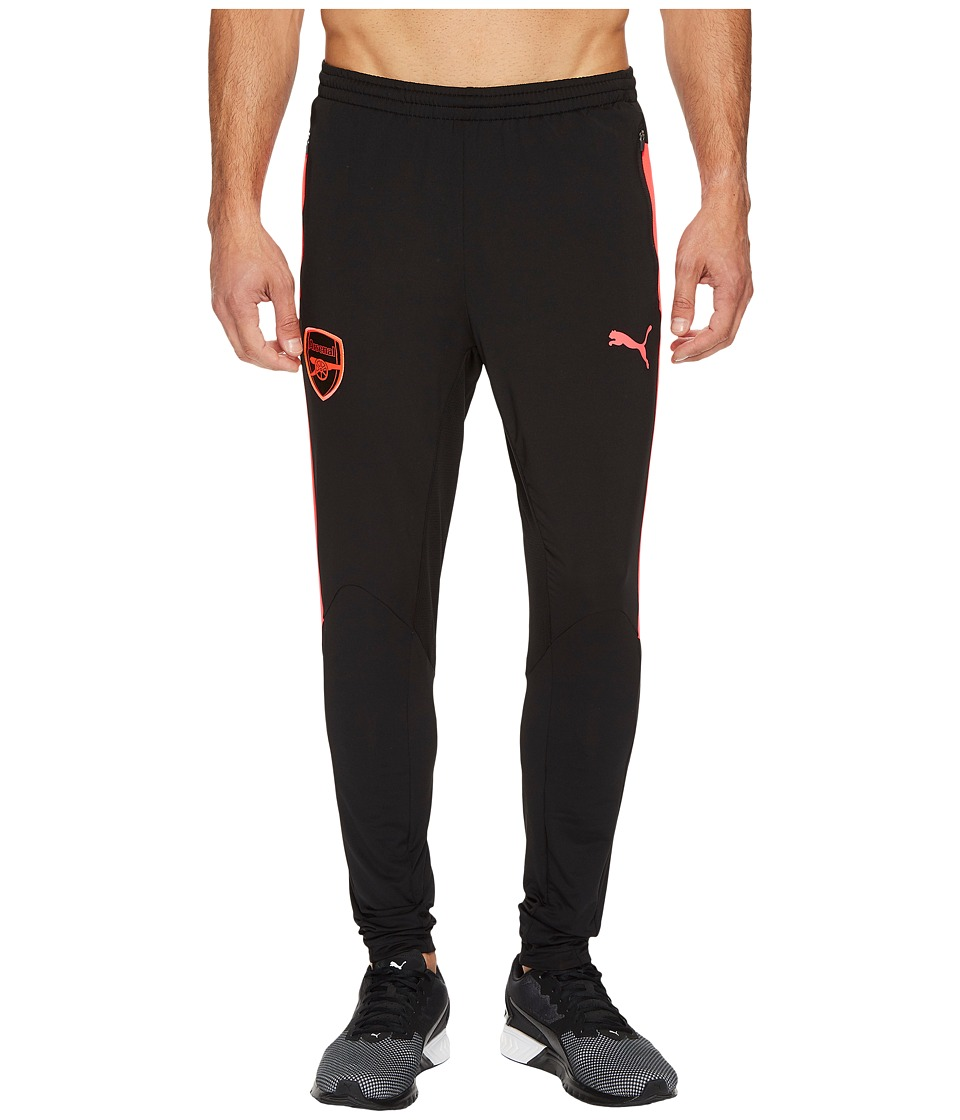 PUMA AFC Training Pants (Puma Black/Bright Plasma) Men