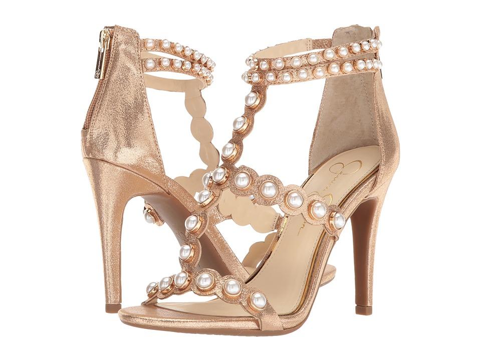 Jessica Simpson Eleia (Karat Gold Shimmer Sand) Women