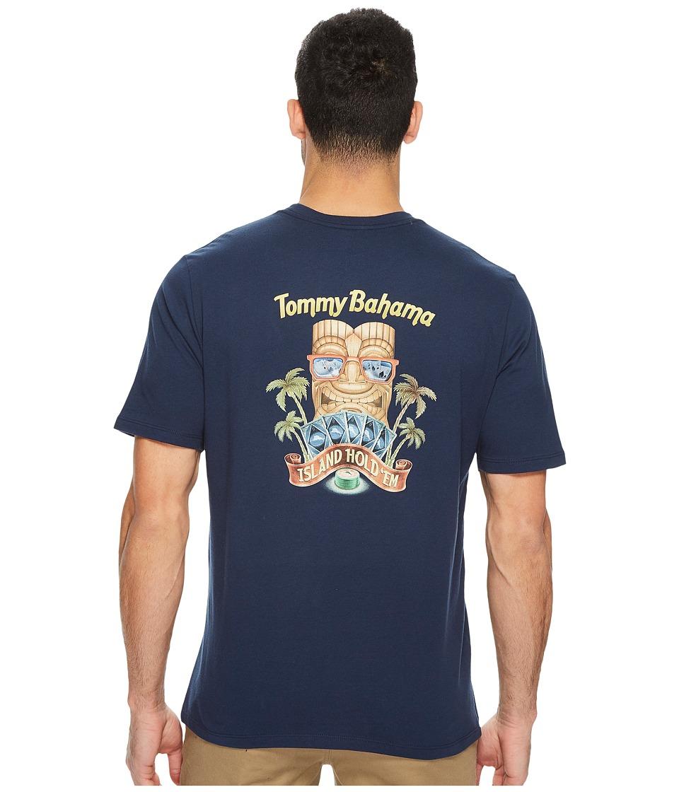 Tommy Bahama Island Hold Emfielder T-Shirt (Navy) Men