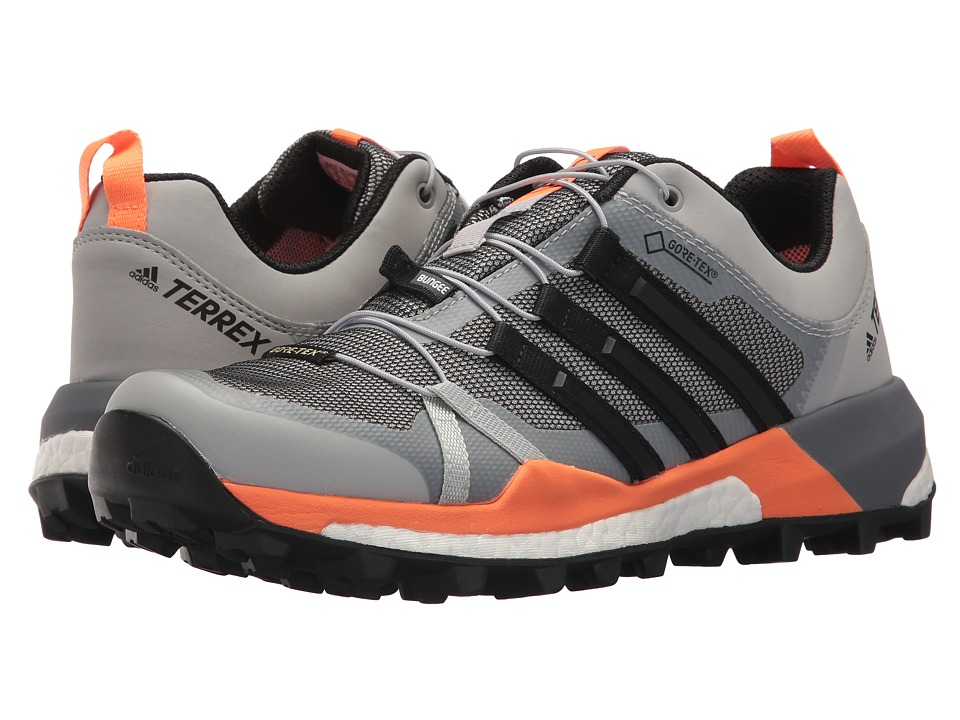 adidas Outdoor - Terrex Skychaser GTX(r) (Grey Two/Black/Hi-Res Orange) Womens Shoes