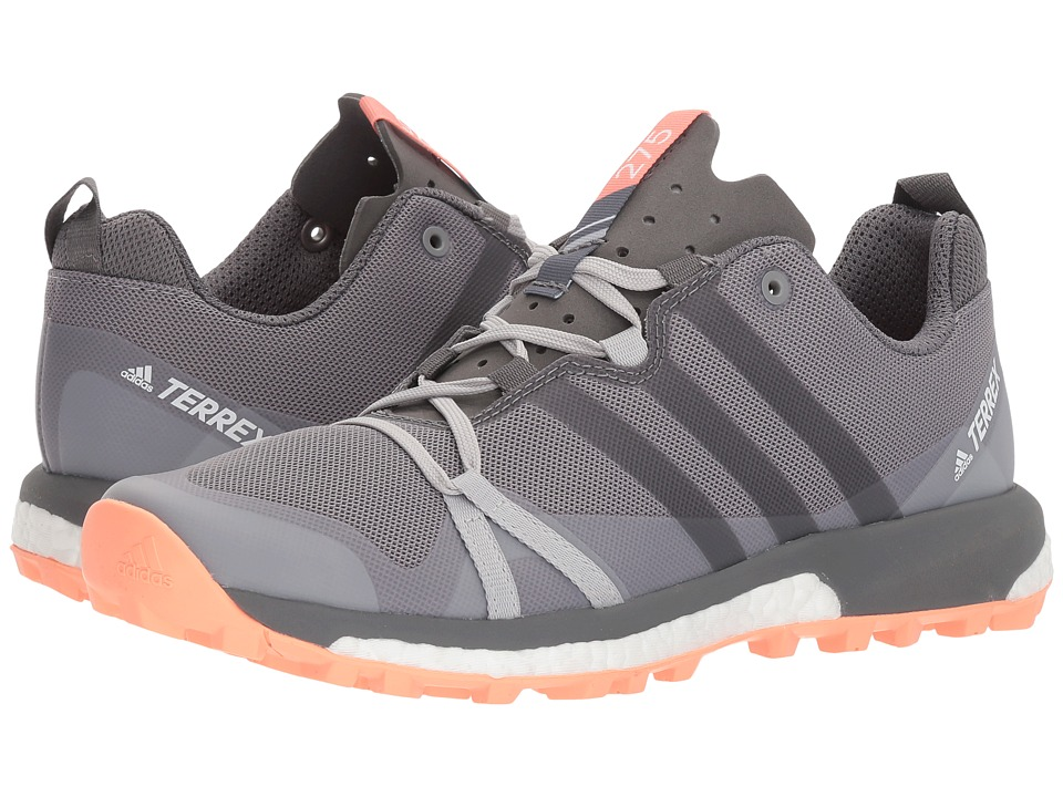 adidas Outdoor Terrex Agravic (Grey Three/Grey Four/Chalk Coral) Women