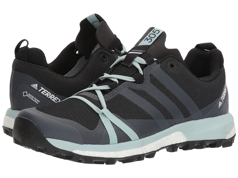 adidas Outdoor Terrex Agravic GTX (Carbon/Grey Three/Ash Green) Women's Running Shoes