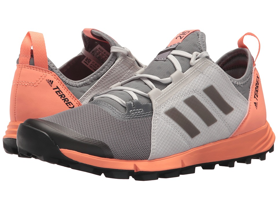 adidas Outdoor - Terrex Agravic Speed (Grey Three/Black/Chalk Coral) Womens Shoes