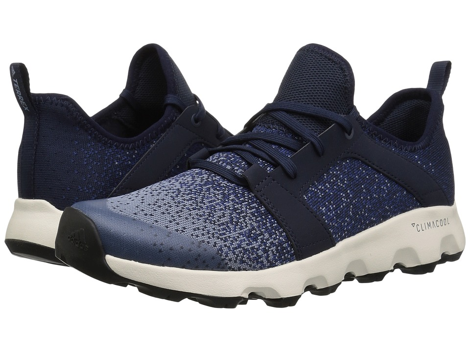 adidas Outdoor - Terrex CC Voyager Sleek Parley (Tactile Blue/Raw Grey/Chalk White) Womens  Shoes