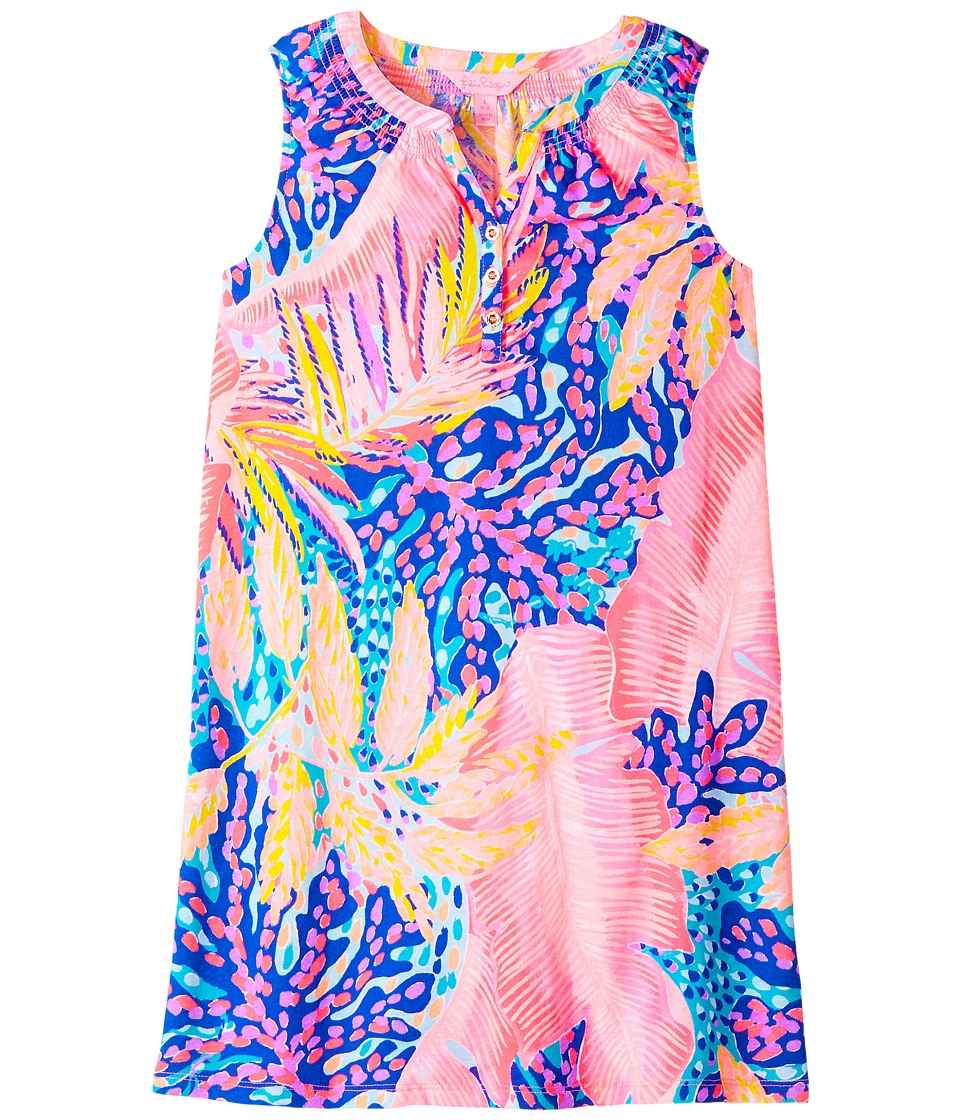 Lilly Pulitzer Kids Mini Essie Dress (Toddler/Little Kids/Big Kids) (Multi Off The Grid) Girl