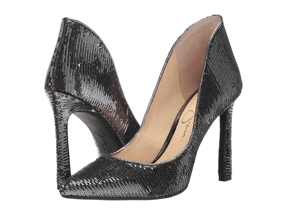 Jessica Simpson Parma (Pewter Micro Sequin) Women's Shoes
