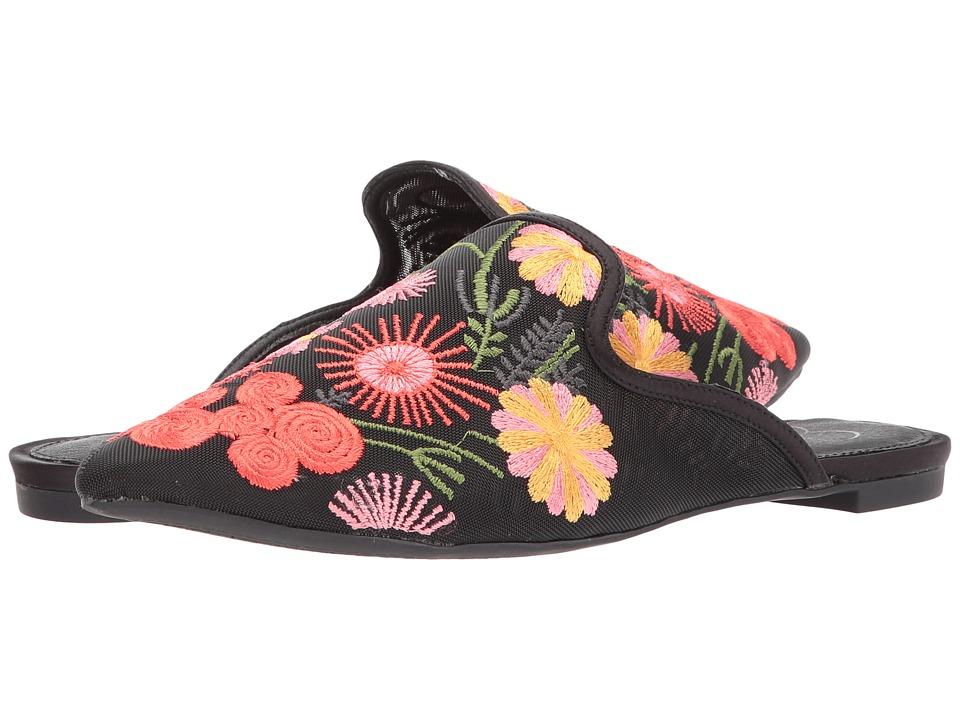 Jessica Simpson - Zander (Black Fine Mesh) Womens Shoes