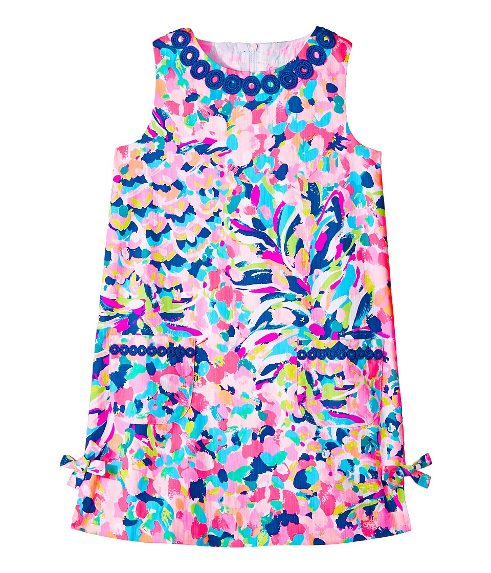 Lilly Pulitzer Kids Little Lilly Classic Shift (Toddler/Little Kids/Big Kids) (Multi Pina Colada Club) Girl