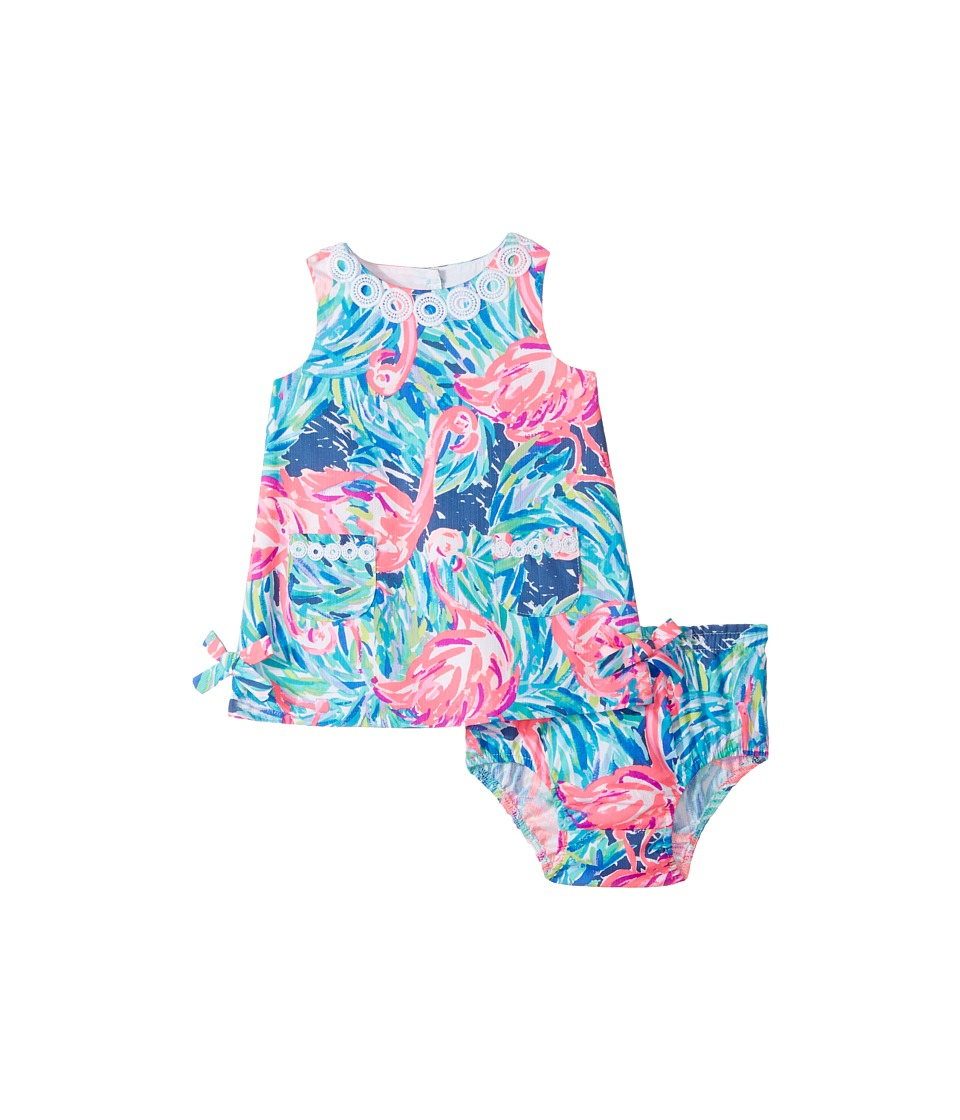 Lilly Pulitzer Kids Baby Lilly Shift (Infant) (Multi Flamenco Beach) Girl