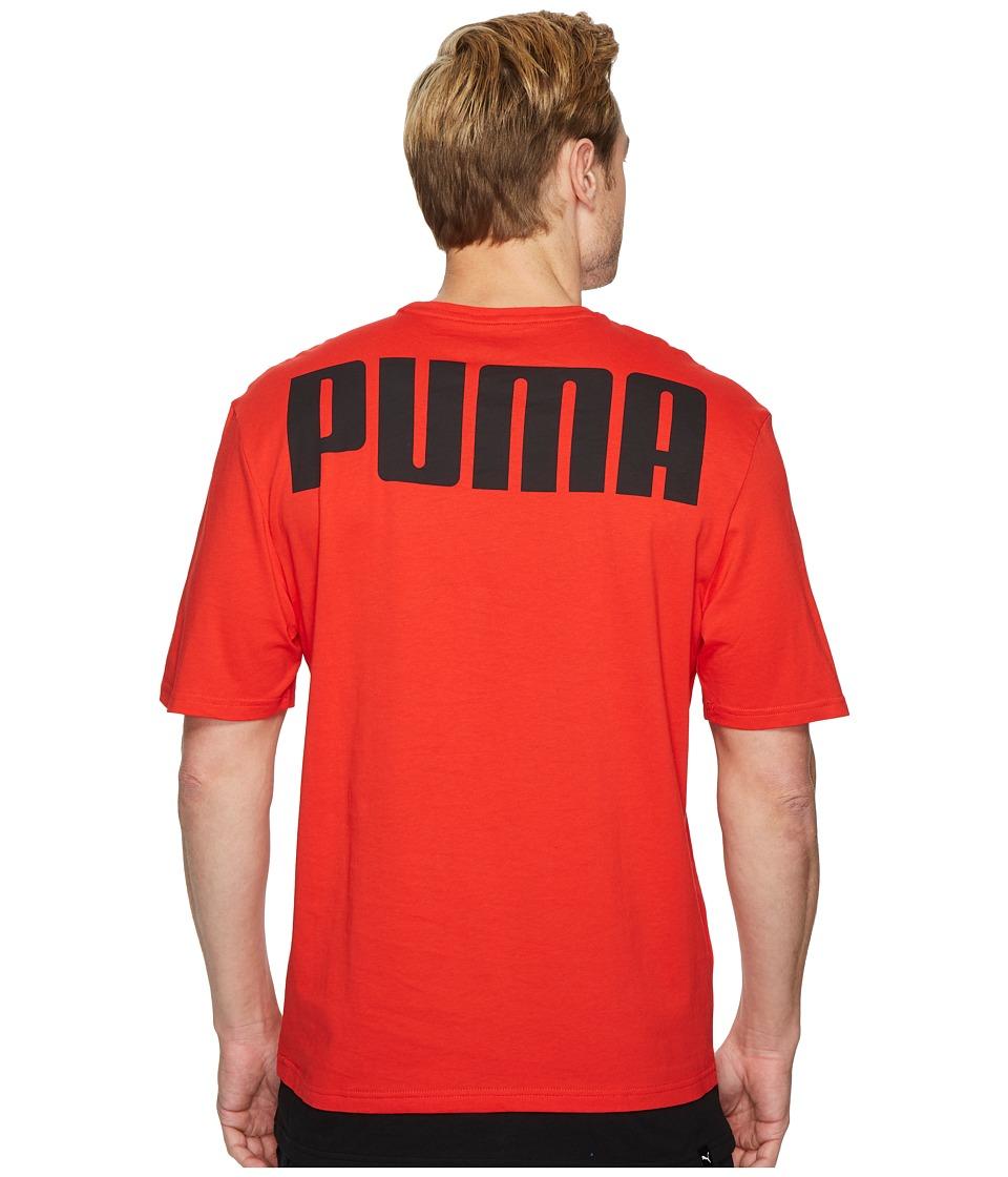 PUMA Rebel Tee (Flame Scarlet) Men