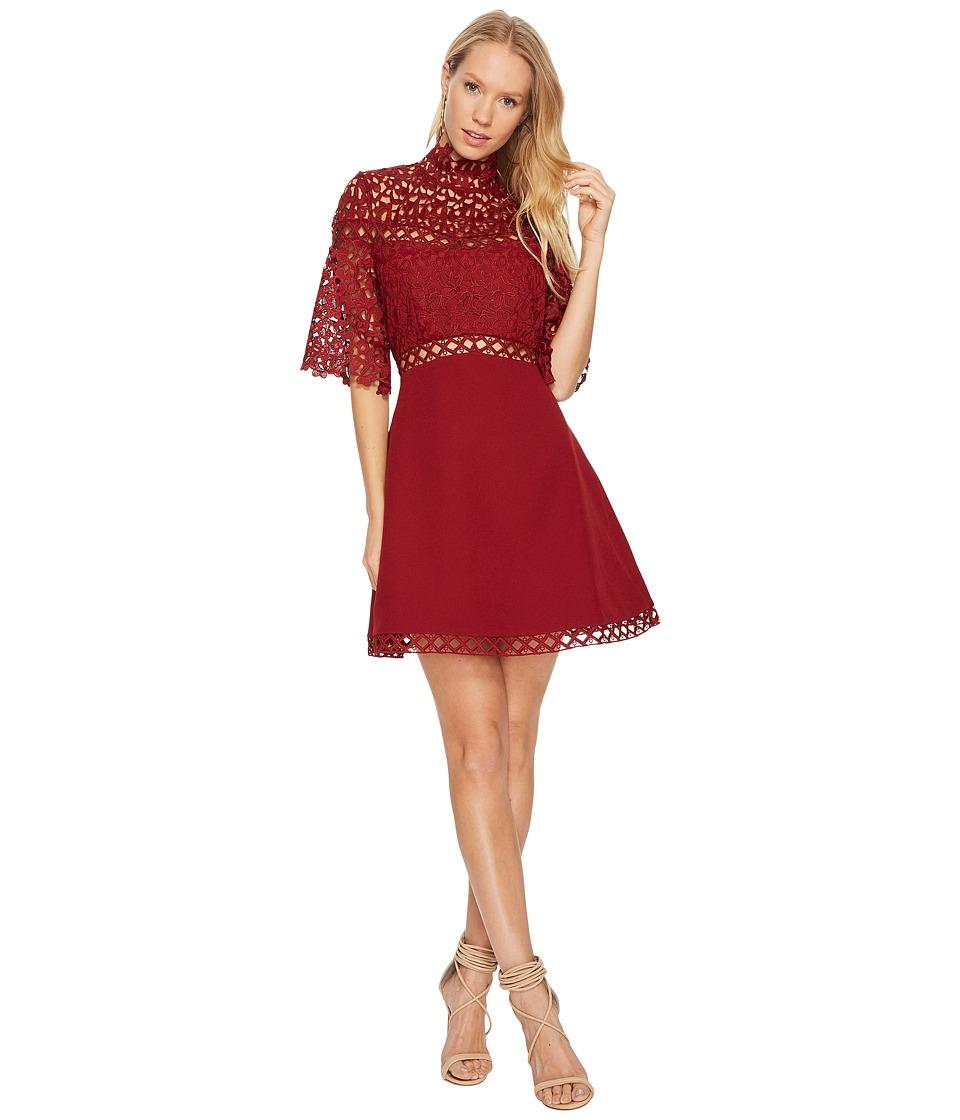KEEPSAKE THE LABEL Uplifted Mini Dress (Burnt Red) Women