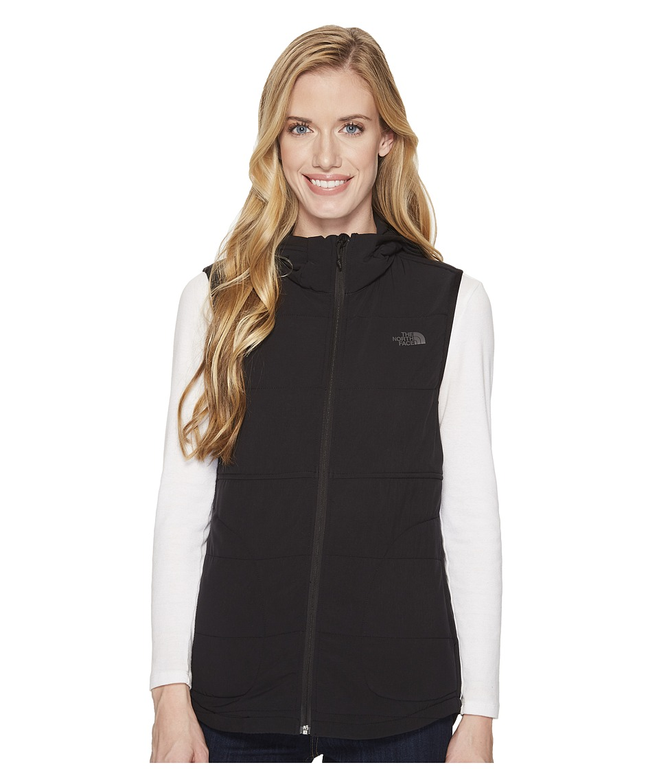 North Face Mountain Sweatshirt Hooded Vest (TNF Black) Wo...
