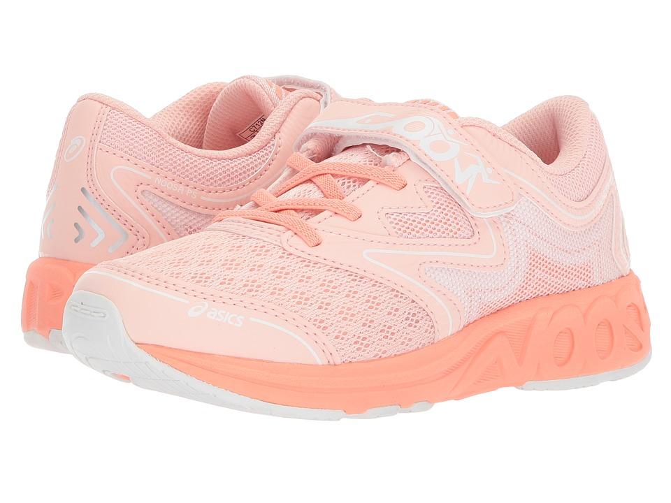 ASICS Kids Noosa PS (Toddler/Little Kid) (Seashell Pink/Begonia Pink/White) Girls Shoes