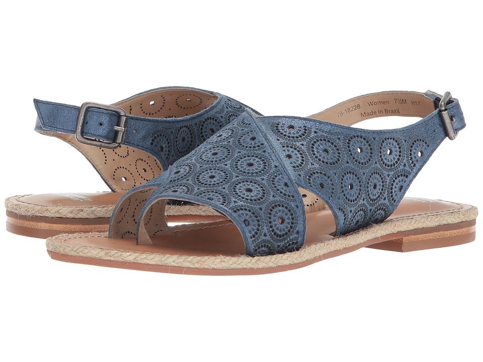 Johnston & Murphy - Willow (Navy Metallic Leather) Womens Sandals