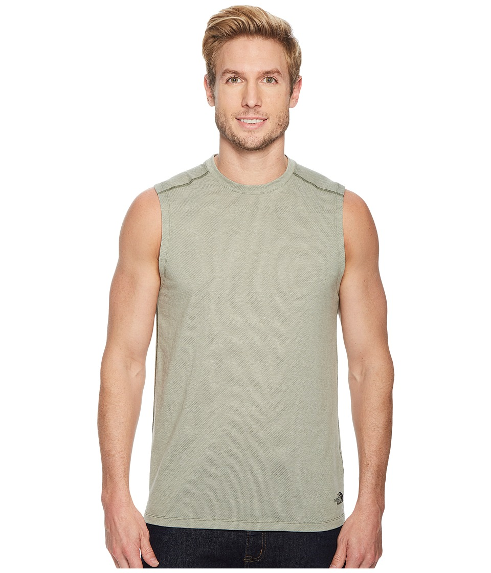 The North Face Day Three Tank Top (Four Leaf Clover Heather) Men