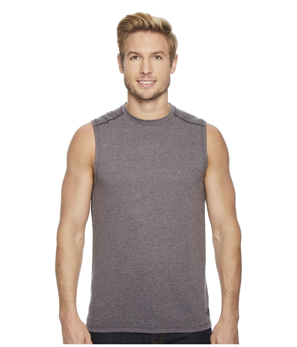 The North Face Day Three Tank Top (Weathered Black) Men