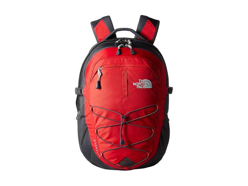 The North Face - Borealis (Rage Red/Asphalt Grey) Backpack Bags