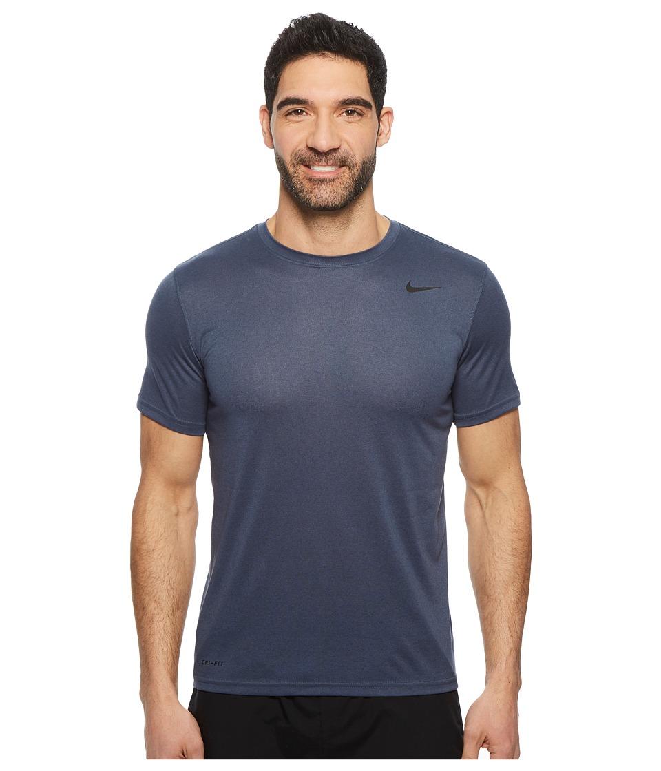 Nike Legend 2.0 Short Sleeve Tee (Thunder Blue/Black) Men