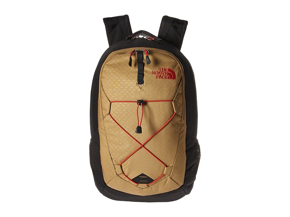 The North Face - Jester (Kelp Tan Emboss/Asphalt Grey) Backpack Bags