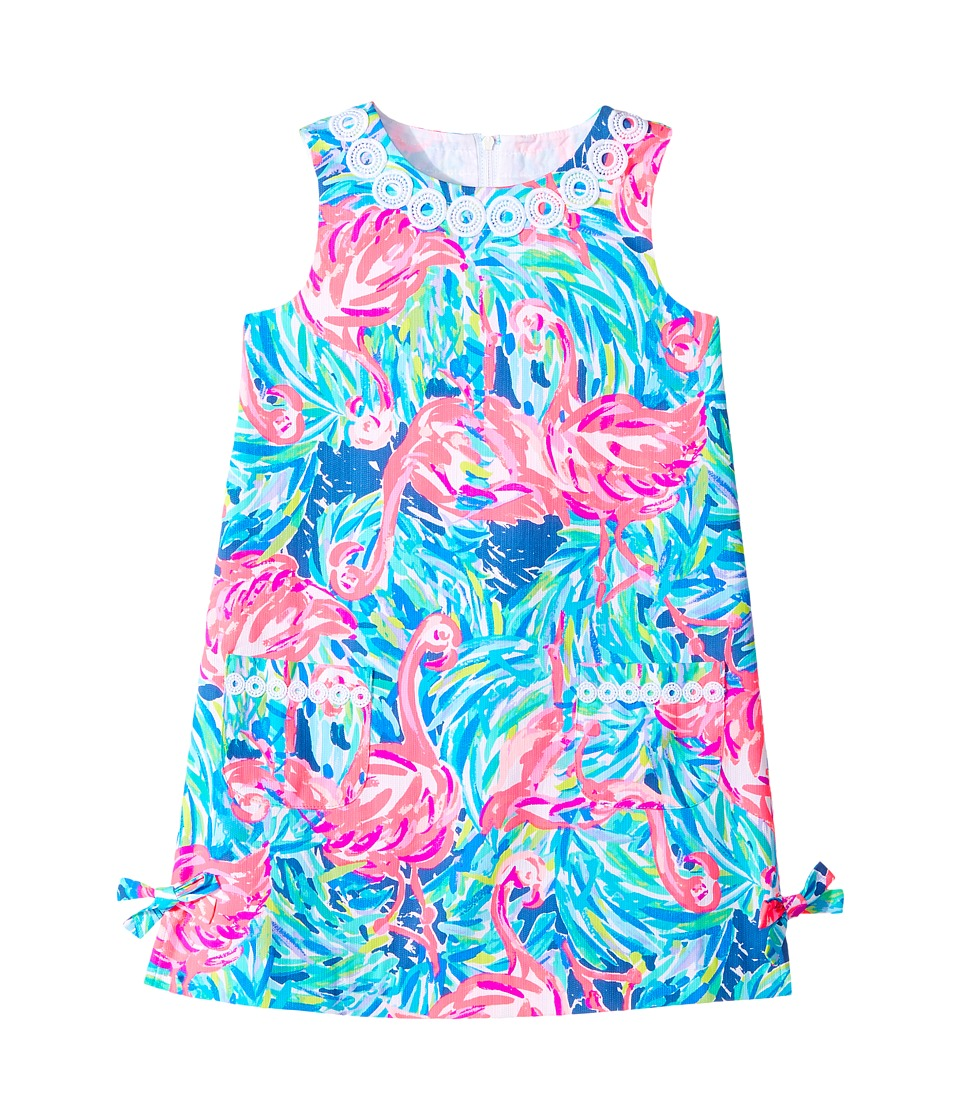 Lilly Pulitzer Kids Little Lilly Classic Shift (Toddler/Little Kids/Big Kids) (Multi Flamenco Beach) Girl