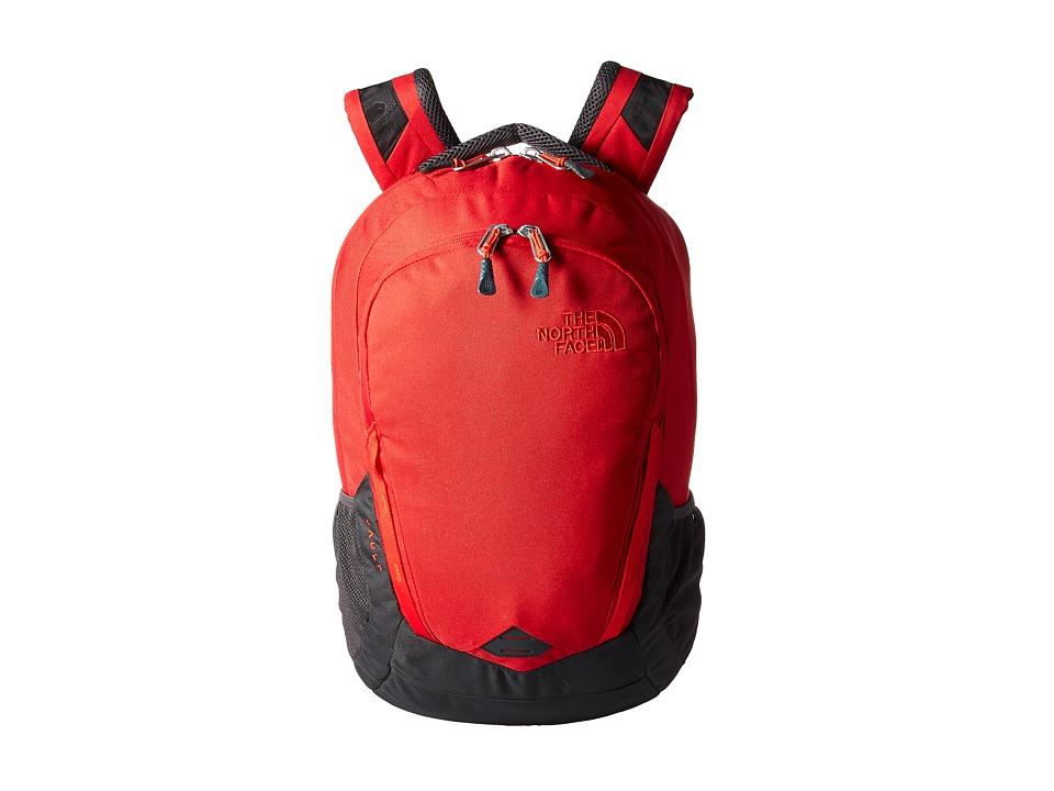 The North Face - Vault (Rage Red/Asphalt Grey) Backpack Bags