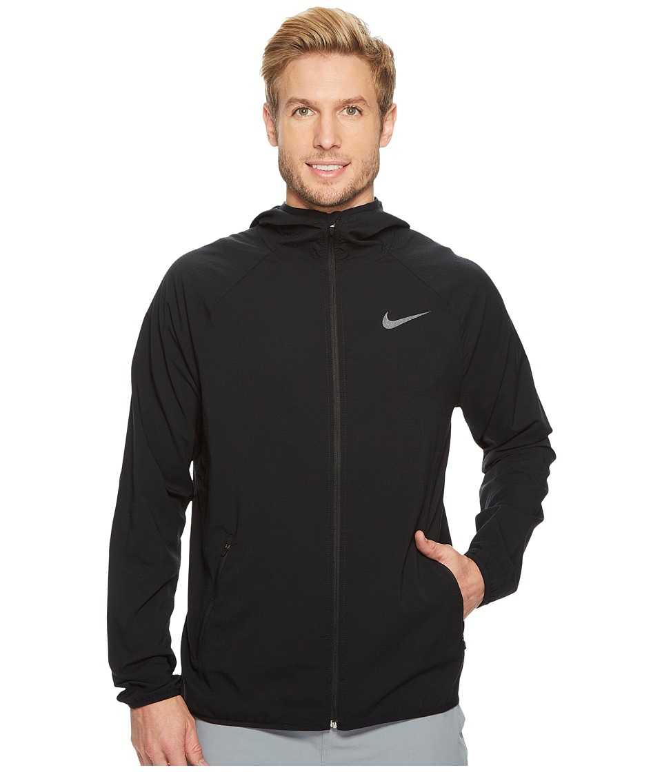 Nike Flex Training Jacket (Black/Metallic Hematite) Men