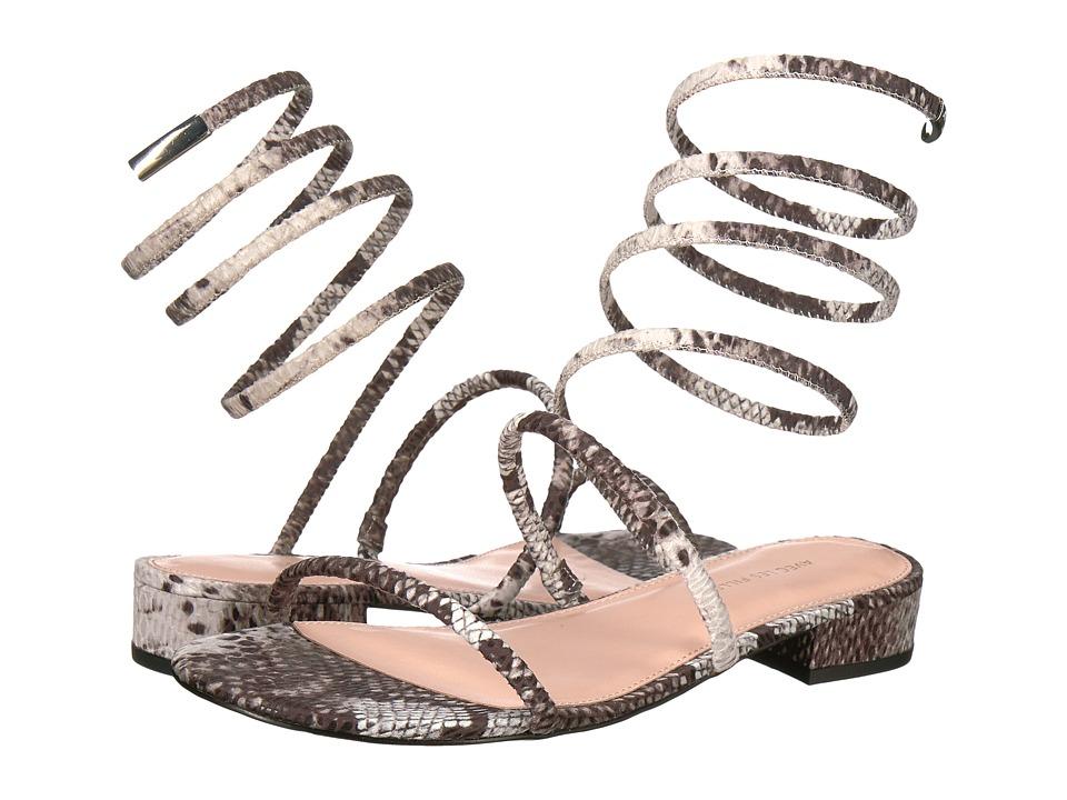 Avec Les Filles - Caila (Snake Print) Women's Sandals