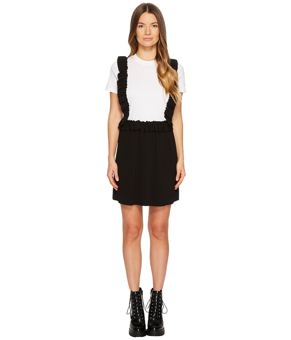 Valentino T-Shirt Dress (Ivory) Women's Dress