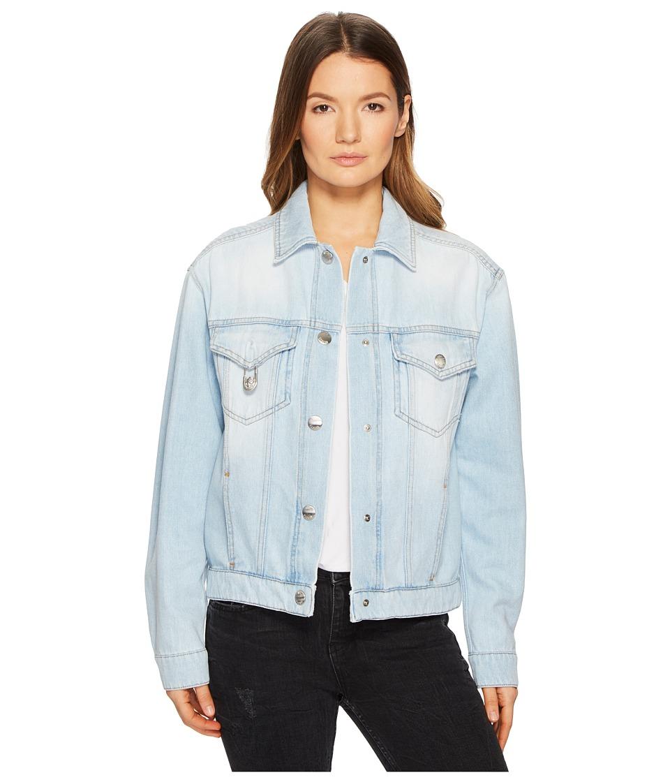 Versus Versace - Blouson Denim/Jeans Donna (Blue Denim) Womens Clothing