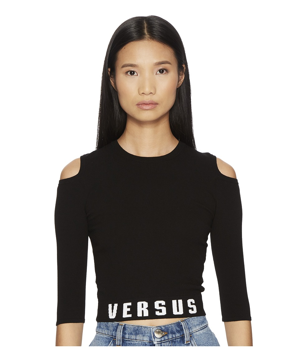Versus Versace - Maglia Donna (Black) Womens Clothing