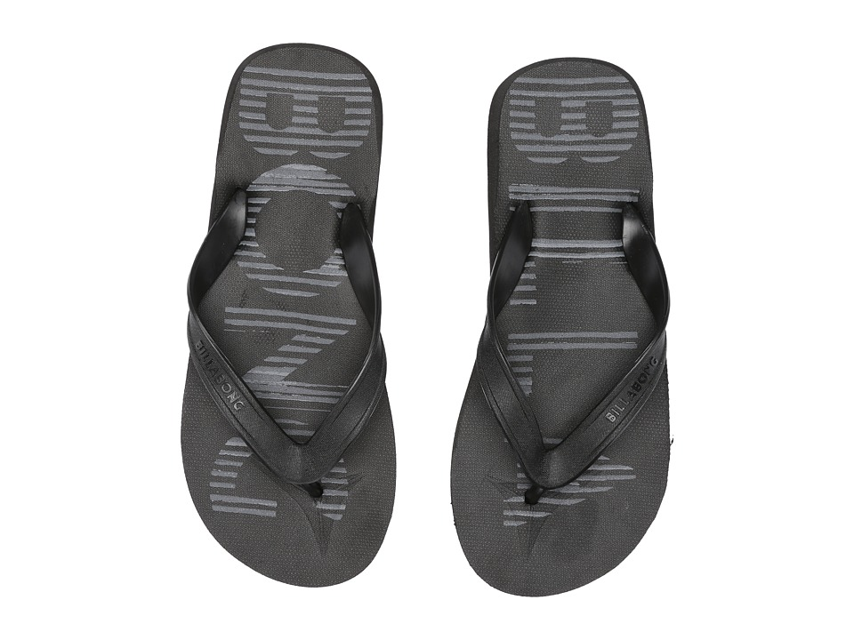 Billabong - All Day Print (Black/Charcoal) Men's Sandals