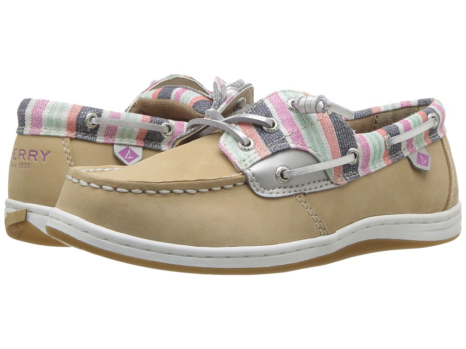 Sperry Kids Songfish (Little Kid/Big Kid) (Sparkle Stripe) Girl's Shoes