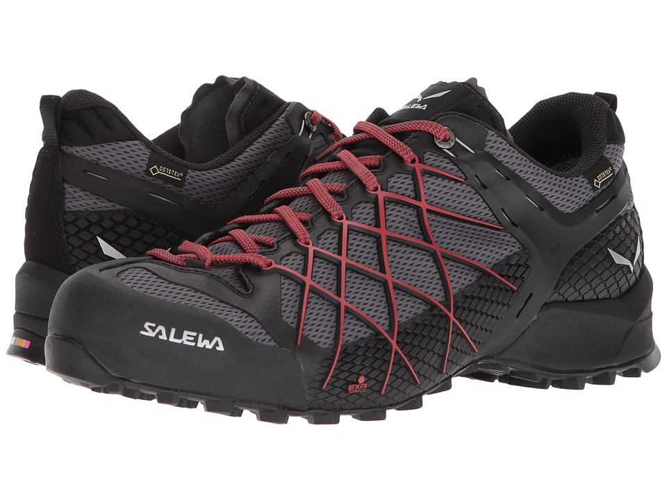 SALEWA - Wildfire GTX (Black Out/Bergot) Mens Shoes