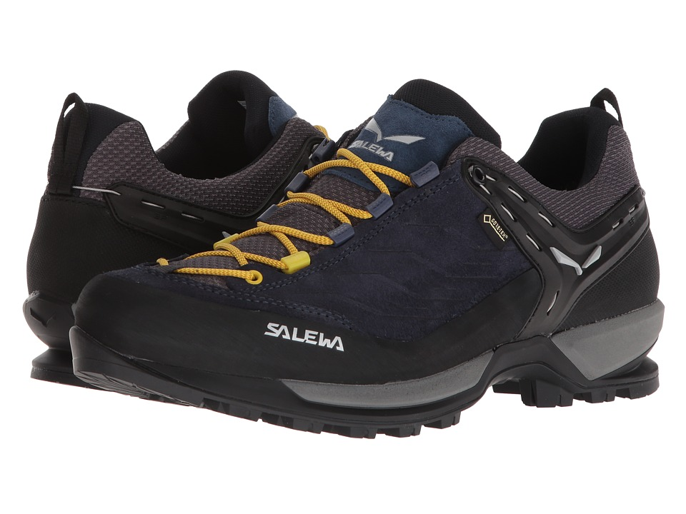 SALEWA - Mountain Trainer GTX (Night Black/Kamille) Mens Shoes