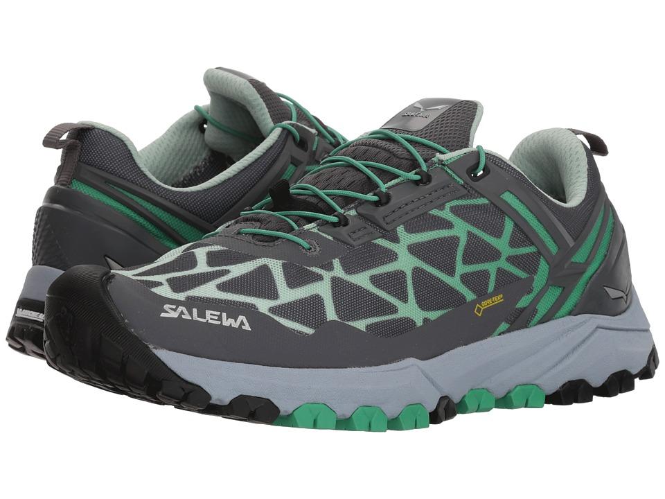 SALEWA Multi Track GTX (Charcoal/Ming Green) Women's Shoes