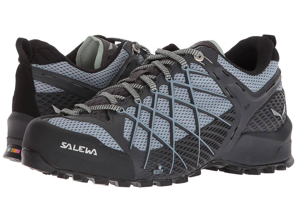 SALEWA Wildfire (Magnet/Blue Fog) Women's Shoes
