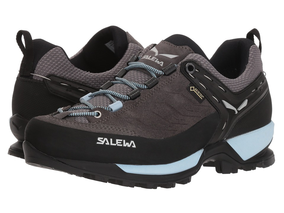 SALEWA Mountain Trainer GTX (Charcoal/Blue Fog) Women's Shoes