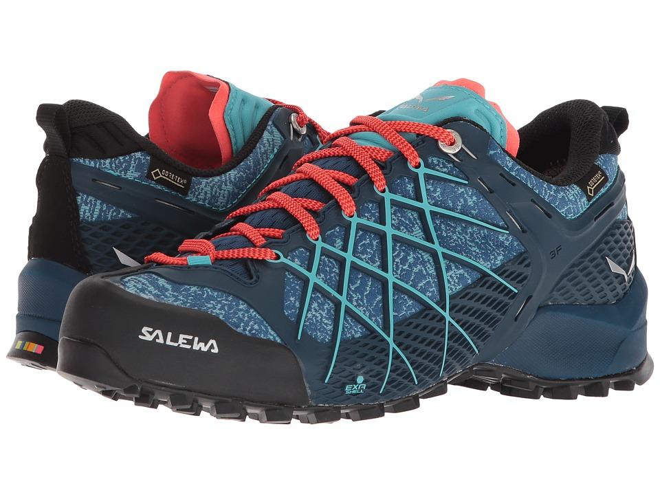 SALEWA Wildfire GTX (Poseidon/Capri) Women's Shoes